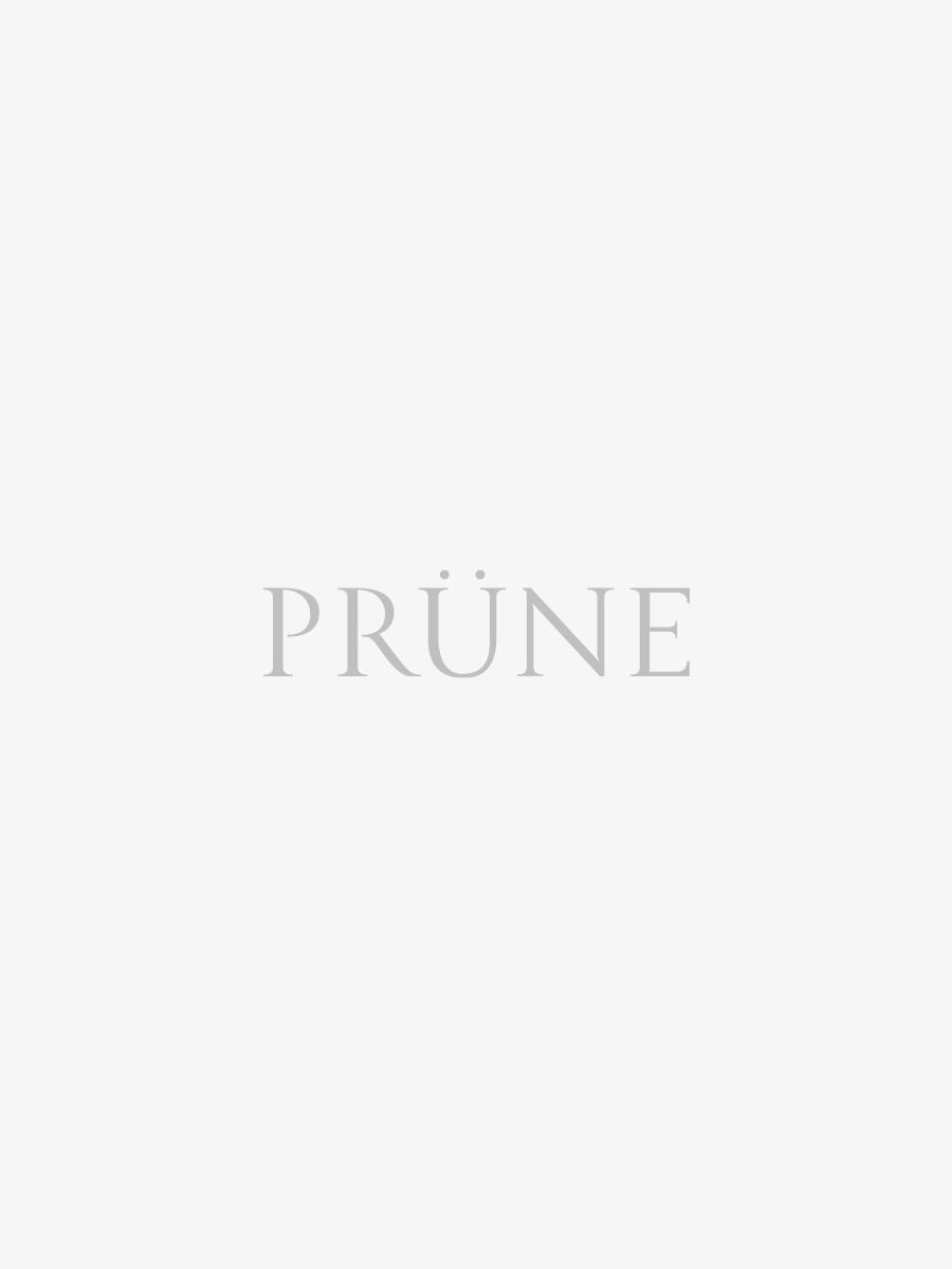 Sandalia Gena En Cuero Metalizado